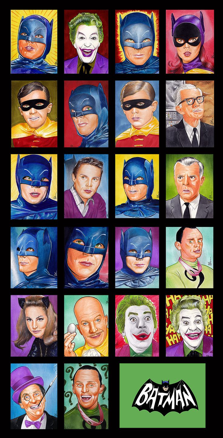 '60s TV Batman...this was my favorite show when i was little.....why little self, why?