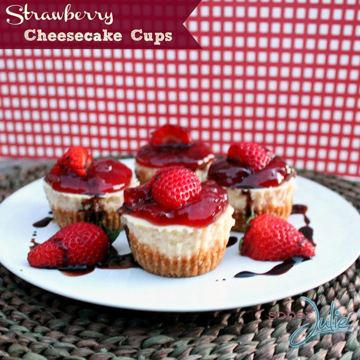 Strawberry Cheesecake Cups Recipe a delicious dessert! (scheduled via http://www.tailwindapp.com?utm_source=pinterest&utm_medium=twpin&utm_content=post1341795&utm_campaign=scheduler_attribution)