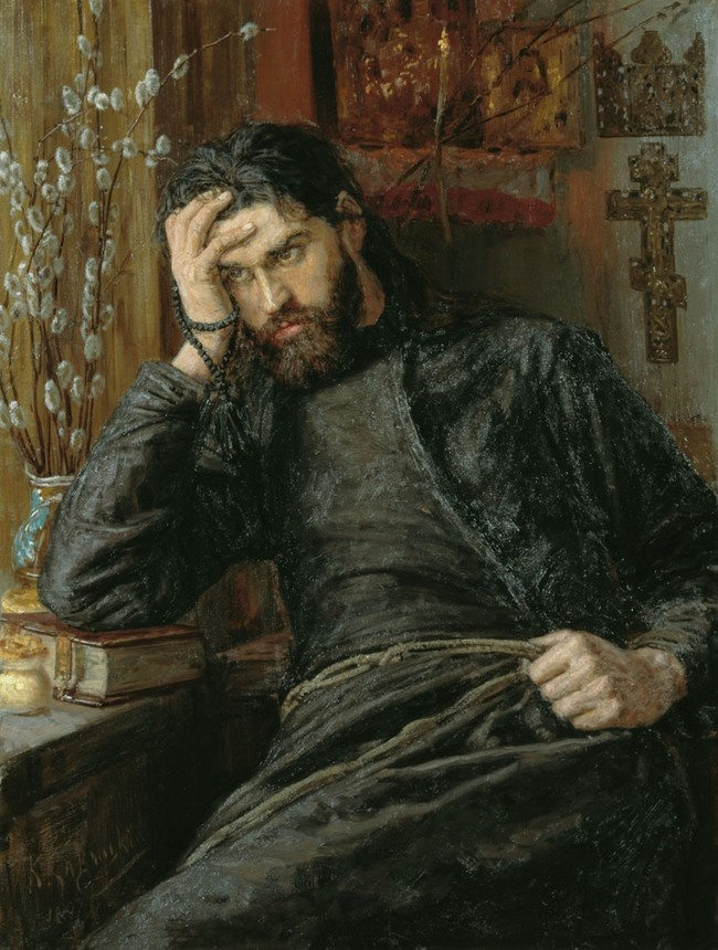 Savitsky, Konstantin (1844-1905) - 1897 Monk Inok. Zippertravel.com