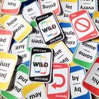 Sight Words Game (First Grade Dolch Words) plays just like the popular card game, UNO™. All the rules are the same except that players change suit ...