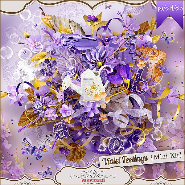 Violet Feelings {Mini} by Valentina's Creations