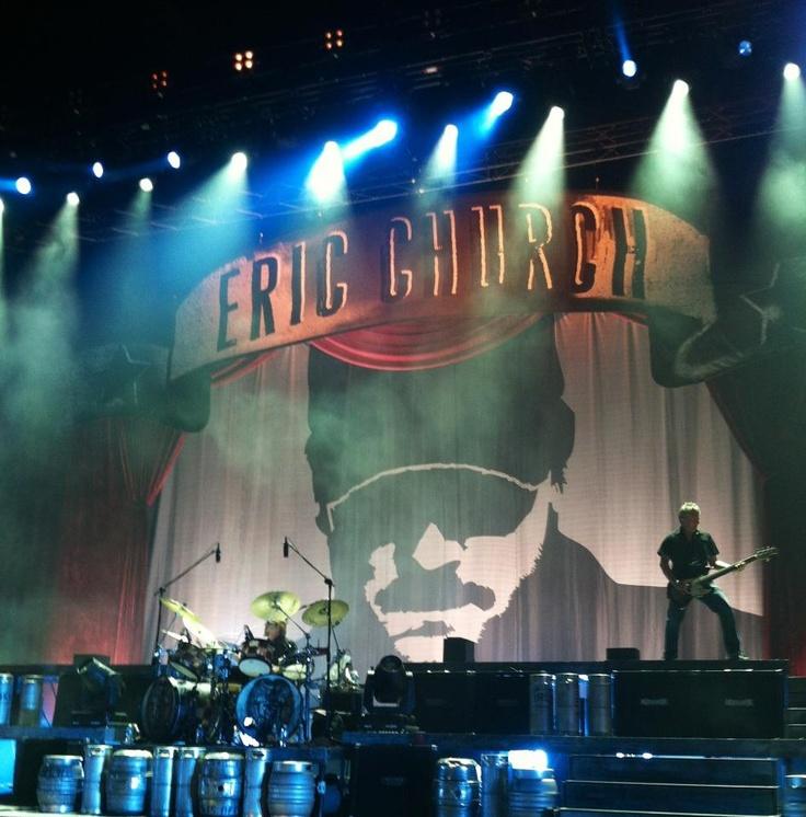 The Whole big curtain with country music star Eric Church #EricChurch #HondaCenter(formerlyArrowheadPond) #Anaheim #AskaTicket