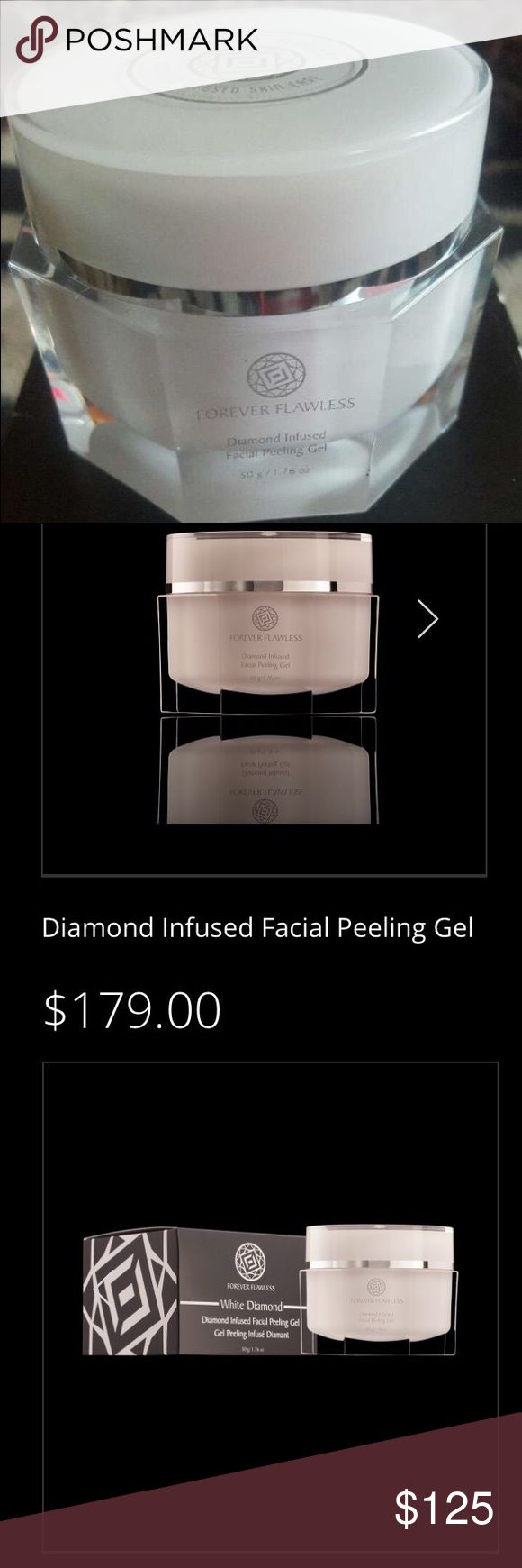 💎DIAMOND INFUSED FACIAL PEELING GEL Diamond Facial Peel is a gentle,effective exfoliating and peeling treatment for ur face. Exfoliating & peeling are essential to skin care routine because pore-clogging residue that can lead to acne, inflammation,& othe