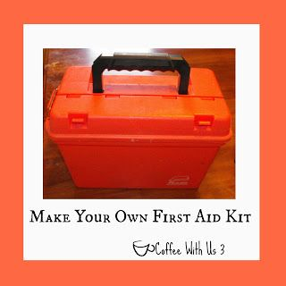 Coffee With Us 3: Make Your Own First Aid Kit
