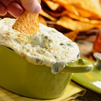baked bleu cheese dip recipe - love me some danish blue!