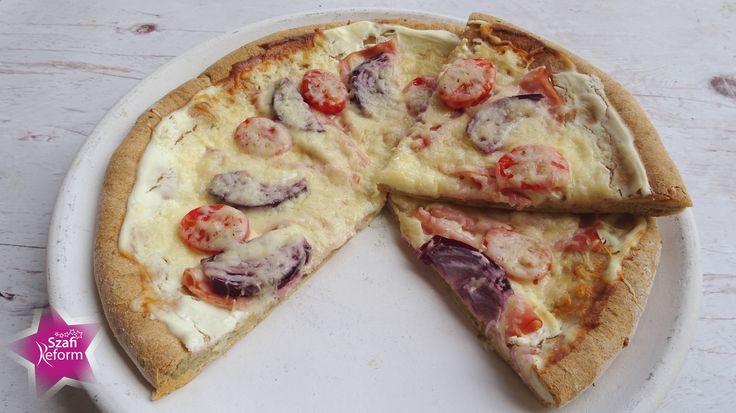 Zablisztes pizza