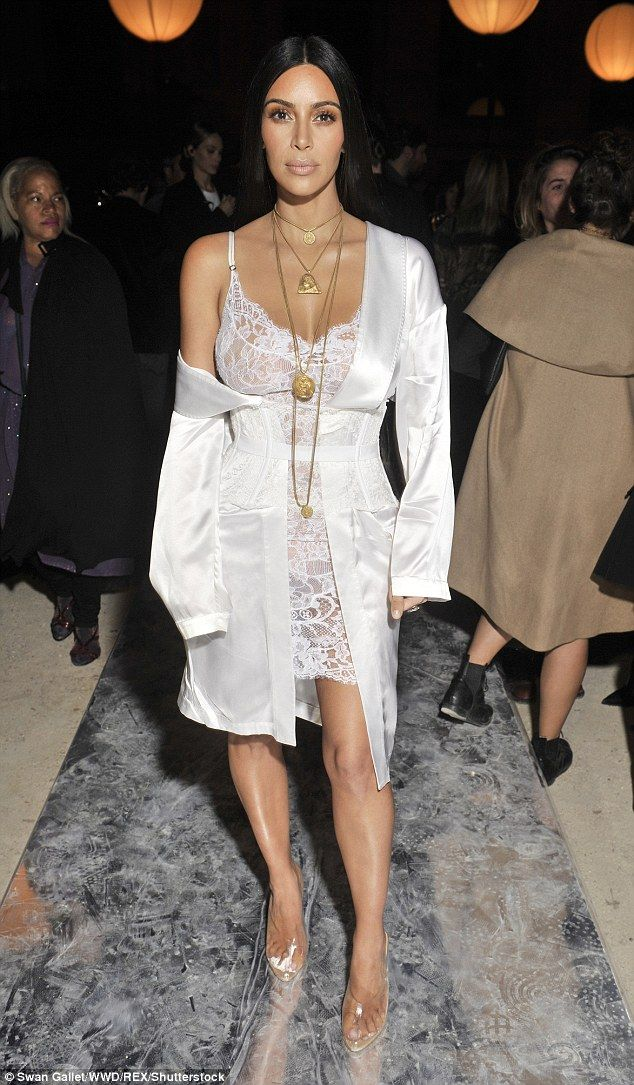 Traumatic: The KUWTK star was bound and gagged in her luxury apartment in Paris in the ear...