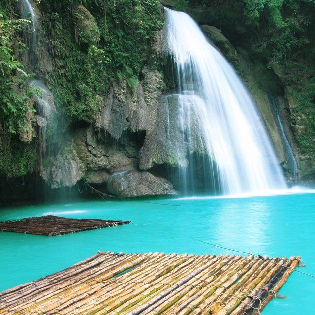 Kawasan Falls The Philippines Amazing World Pinterest Beautiful Travel Tourism And The