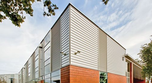 Insulated Composite Backup Panels | Sponsored by CENTRIA | Originally published in the September 2012 issue of Architectural Record | Architectural Record's Continuing Education Center