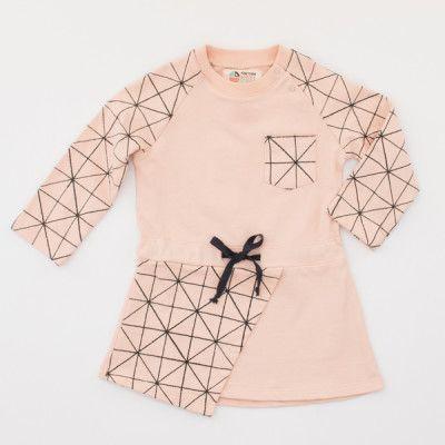 Ausgefallene Kinderkleidung – Pünktchen Komma Strich