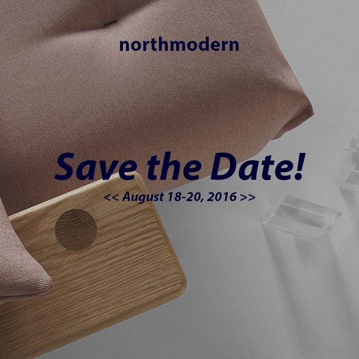 Save the date ! We will be on the stand B2-002C showing our latest sofa bed designs.See you there!