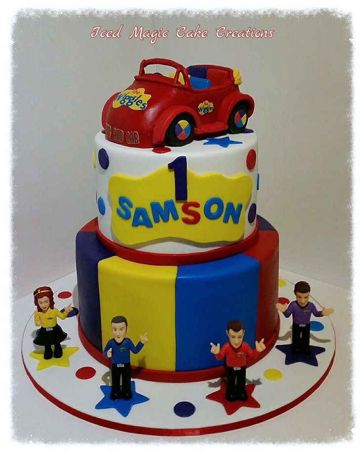 85 Best Cakes Images On Pinterest Wiggles Cake Wiggles Birthday