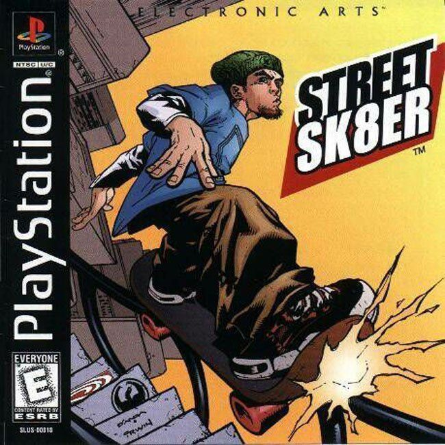 Comprar Jogos Ps 2 Xbox 360 Dvd Xbox360 Playstation 2 Ps2: STREET SK8ER Para PlayStation PSX PS1