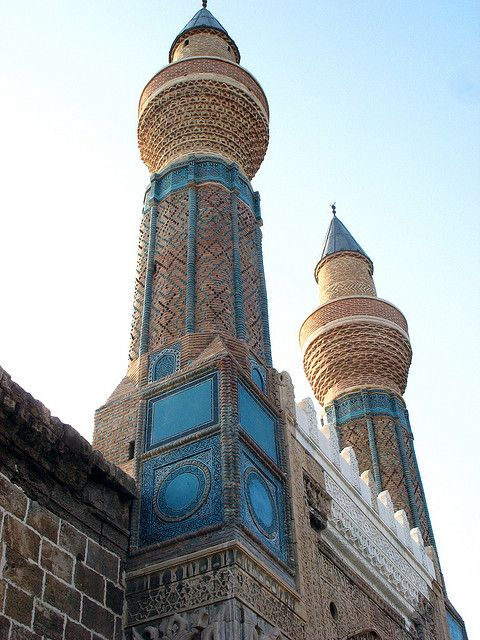 "The ""Sky-Blue madrasa"" in Sivas,Turkey"