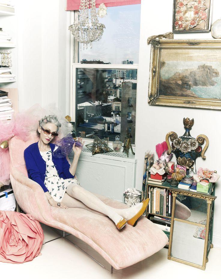 amazing lady: linda rodin// photo by PAMU