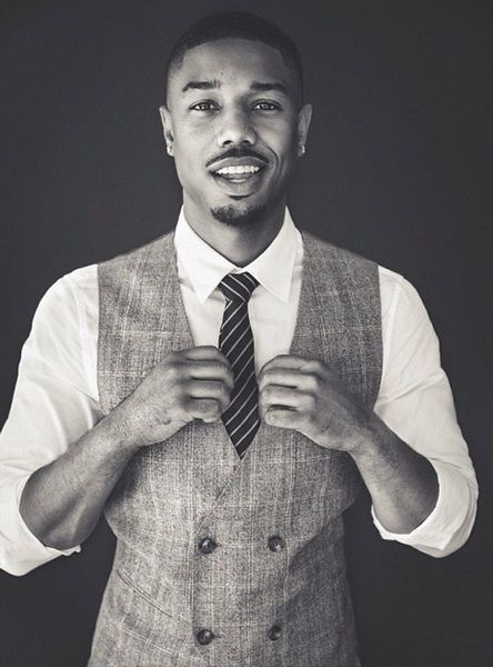Michael B Jordan he is so stinkin cuteeeee