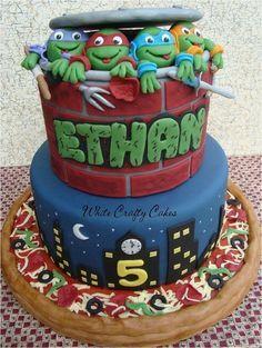 48 Best Images About Teenage Mutant Ninja Turtle Cake
