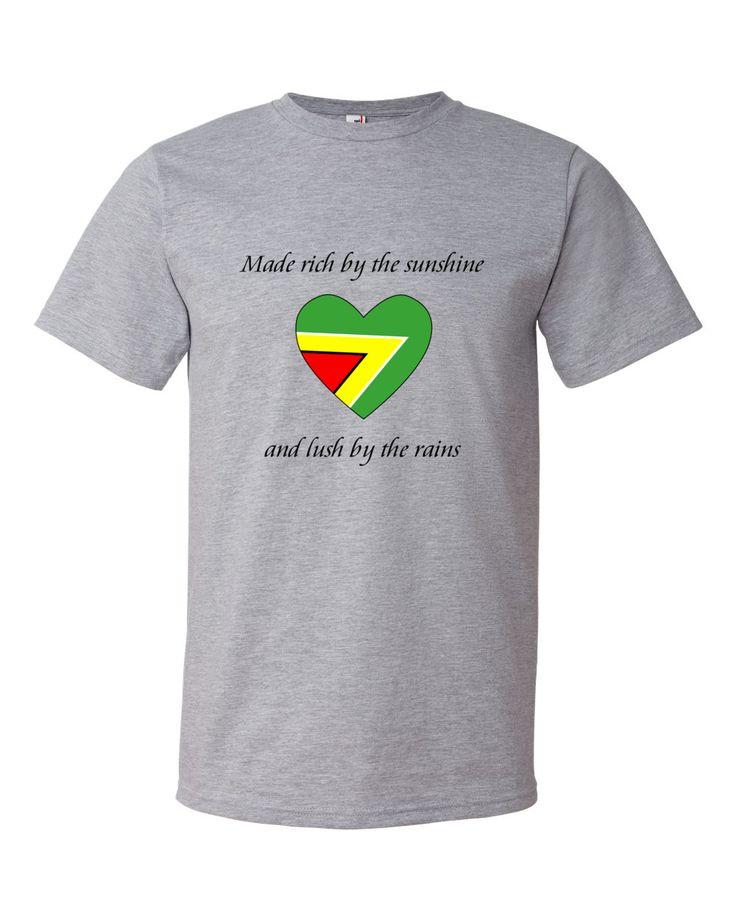Men's Guyanese Pride T-Shirt