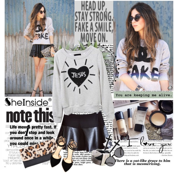"""""""Head Up, Stay Strong, Fake a Smile, Move On.."""" by bamaannie ❤ liked on Polyvore"""