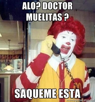 Doctor muelitas?