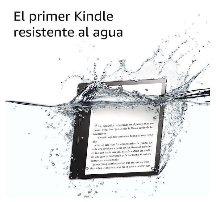 Nuevo eReader Kindle Oasis resistente al agua de Amazon con pantalla de 7″ y mejor duración de batería: precio y cuando comprar.