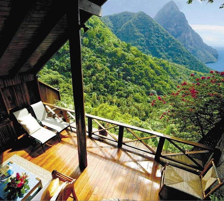 Ladera St. Lucia Resort / St. Lucia, West Indies: Ladera Resort, Dreams Home, Saintlucia, West Indie, Living Spaces, The View, Amazing View, St. Lucia, St Lucia