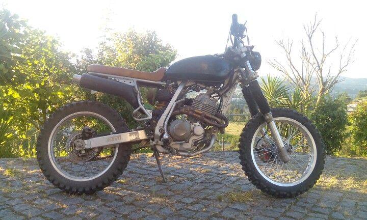 Honda xr scrambler