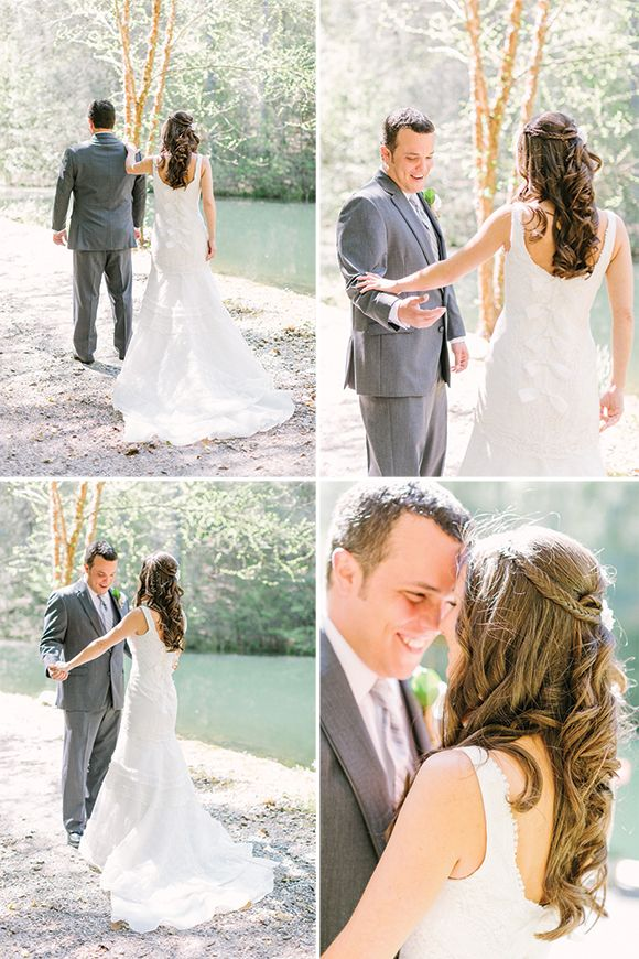1st look - Farm wedding by Haley Sheffield - via magnoliarouge