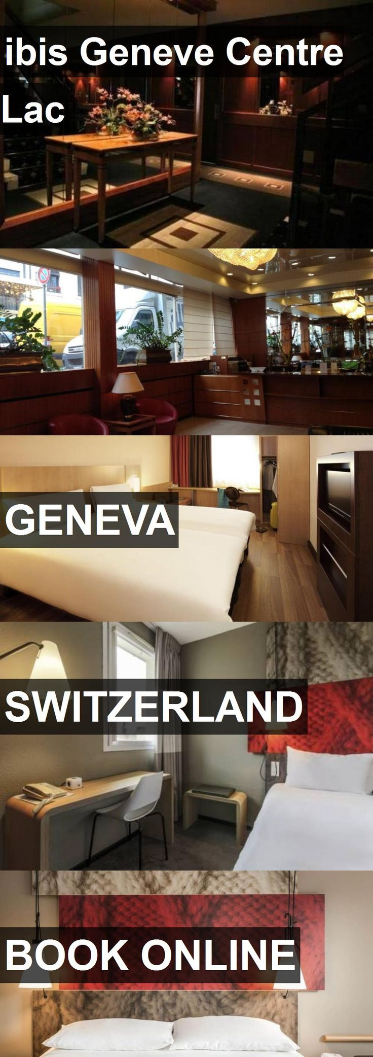 Hotel ibis Geneve Centre Lac in Geneva, Switzerland. For more information, photos, reviews and best prices please follow the link. #Switzerland #Geneva #travel #vacation #hotel