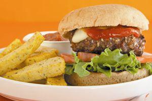 Devin Alexander's Bacon Cheeseburger