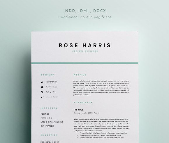 47 best Resume\/CV ✏ images on Pinterest Resume templates, Cv - resume templates 2014