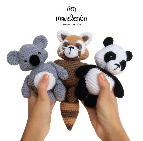 "Madelenón Crochet Pattern ""My Rainforest"""