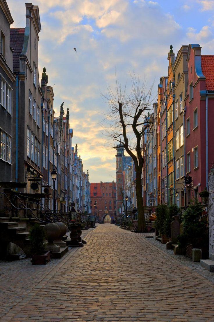 Ulica #Mariacka / Mariacka Street, #Gdansk