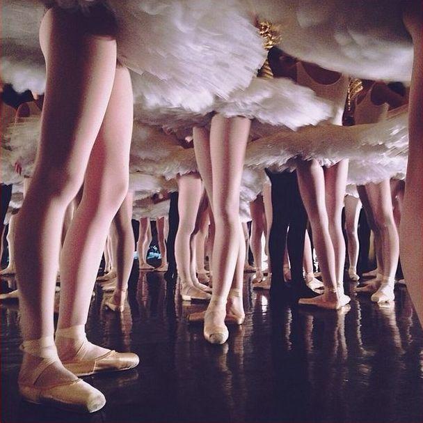 b-cycle:  Coulisses du Défilé du Ballet de l'Opéra de Paris  Photo taken by POB School student ArianeServagent
