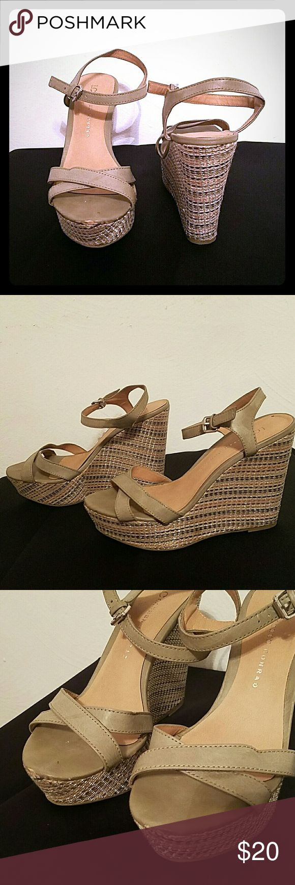 LC Lauren Conrad Wedges LC Lauren Conrad Wedges size 9. A few scuffs so letting them go for cheap. LC Lauren Conrad Shoes Wedges
