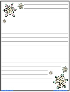 the amazingclassroom com blog free snowflake journal writing paper