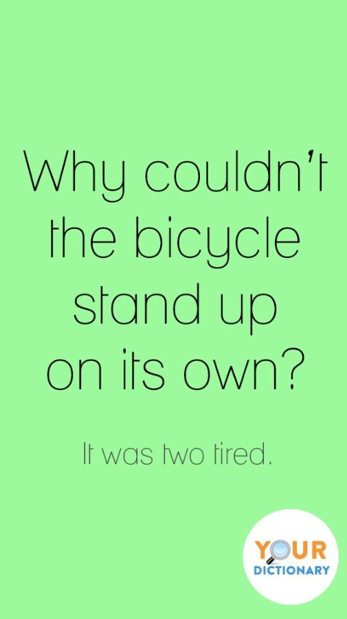 LOL! Word jokes are the best jokes. #YourDictionary