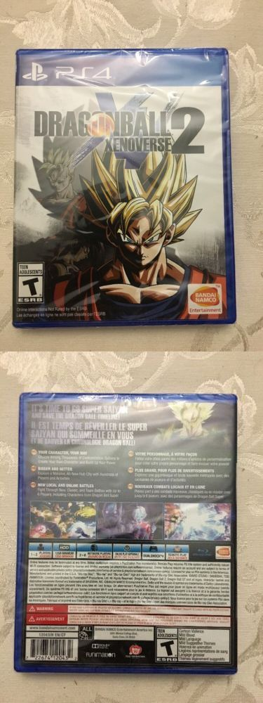 Video Gaming: Dragon Ball Xenoverse 2 Brand-New Sealed (Sony Playstation 4, 2016) -> BUY IT NOW ONLY: $32.99 on eBay!