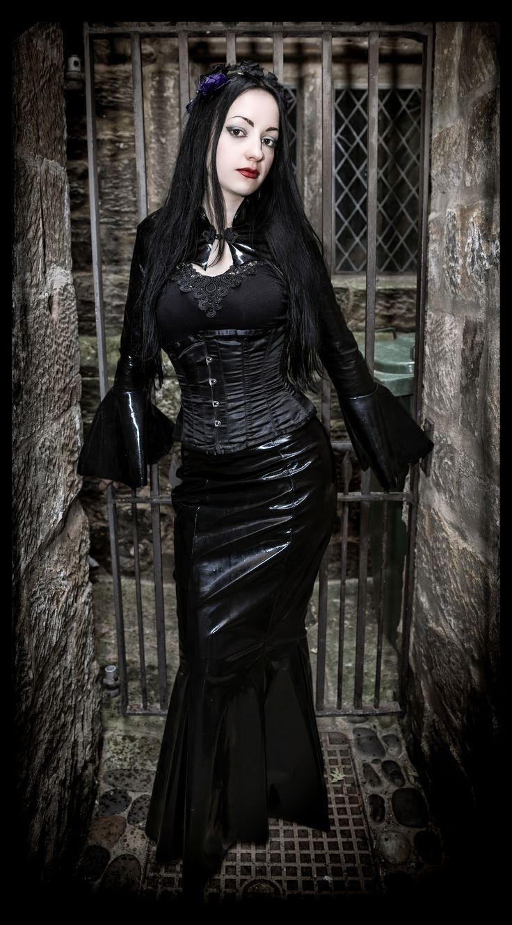 Handmade pvc outfit by my clothing brand Superstitchious.