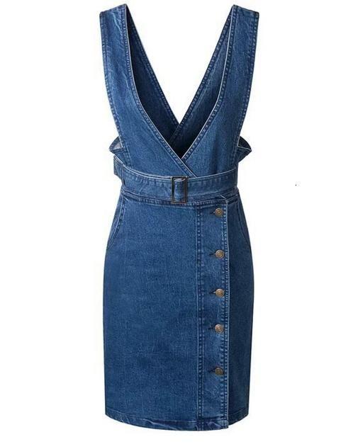 джинсовый сарафан