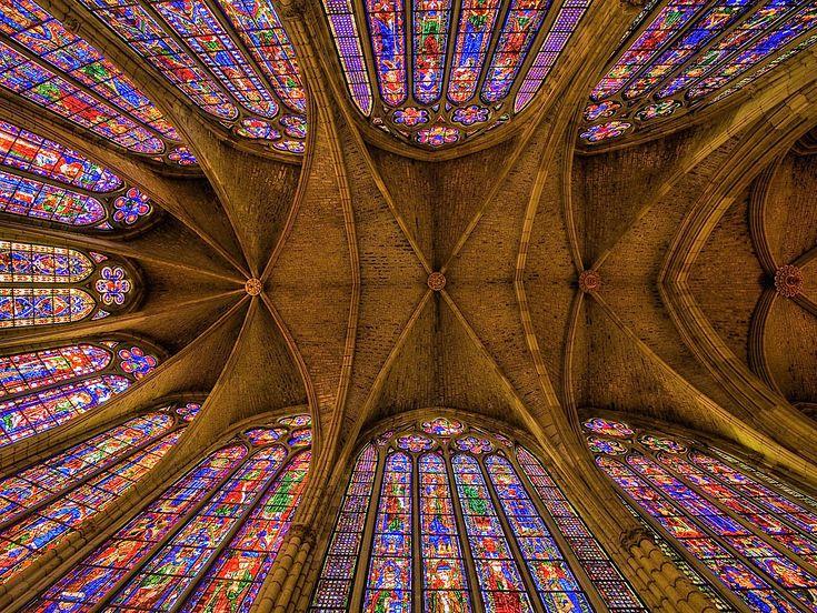 Vidrieras eclesiásticas, catedral de León