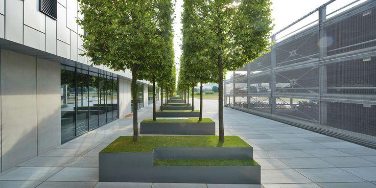 Club l94 landschaftsarchitekten neubau bbraun avitum for Fabrik landscape architects