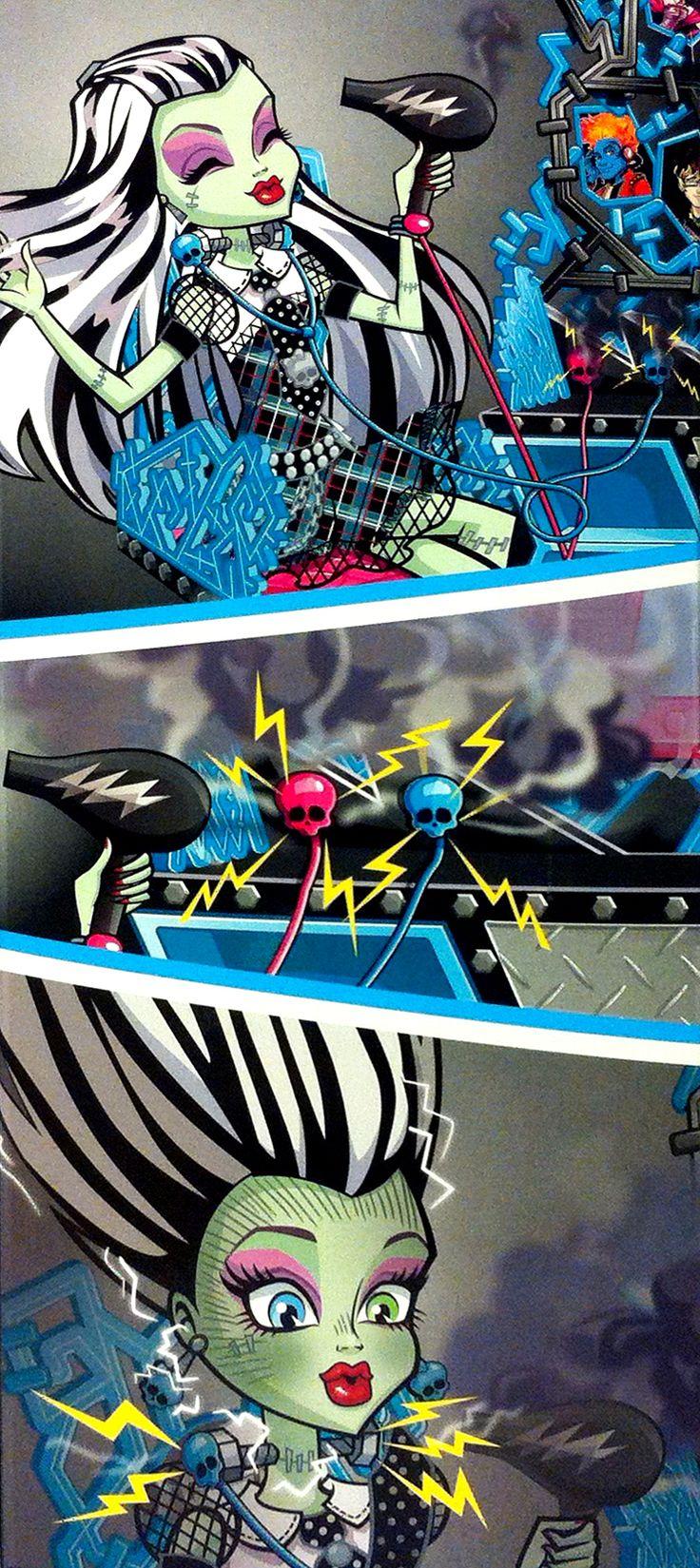 Todo sobre Monster High: Nueva imagen de Frankie Stein