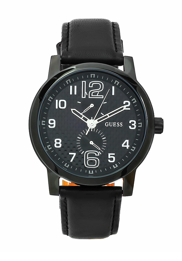 Price:$105.50 #watches Guess W10577G1, This Guess timepiece is uniquely known for it's classy and sporty look. It's accentuated design has made it one of the best sellers year after year.