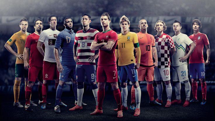 Nike Football Unveils New National Home Kits Nike Football Football Wallpaper Football