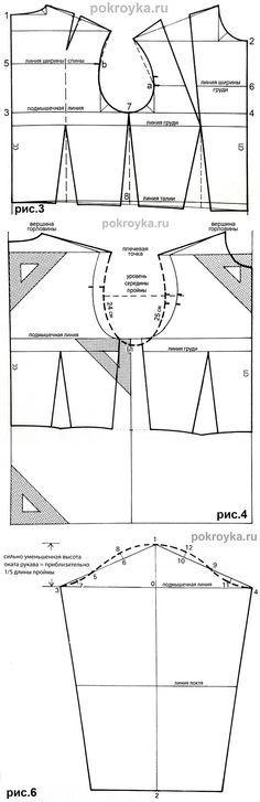 Okato basic bodice pattern a little free-form...♥ Deniz ♥