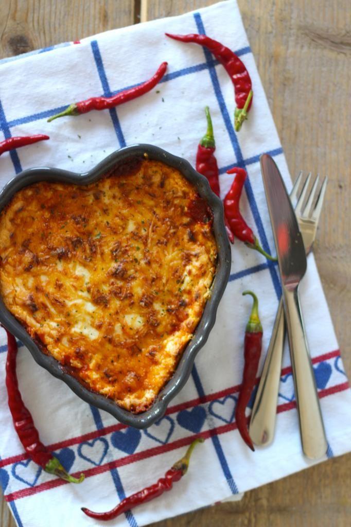 Lasagne met courgettebladen - Lekker en Simpel