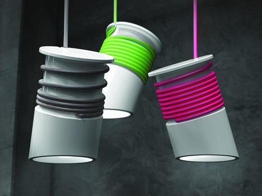 Wrappie Lamp by Tomasz Pyodo