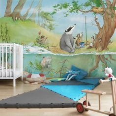 Kindertapeten - Vliestapeten - Ein Fahrstuhl für Elsa - Fototapete Breit