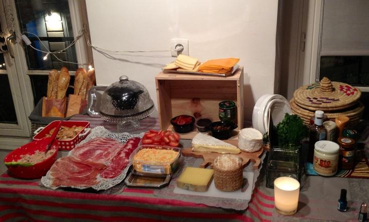 idee buffet anniversaire sandwich bar let 39 s party. Black Bedroom Furniture Sets. Home Design Ideas